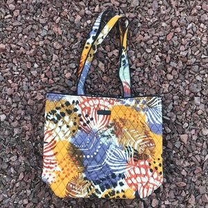 """Vera Bradley """"painted feathers"""" tote"""